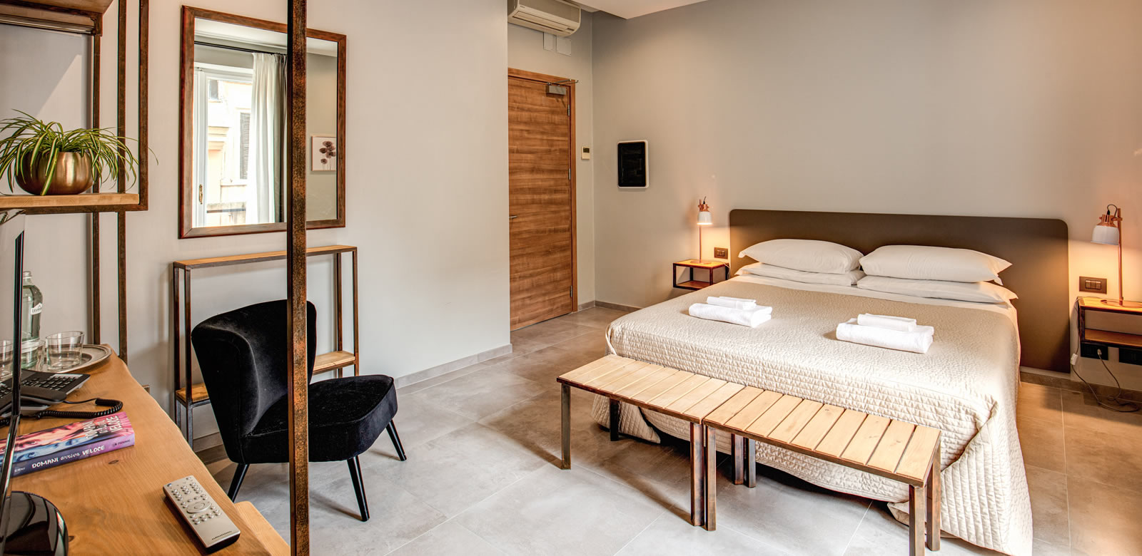 Camera Matrimoniale Per Uso Singolo.Hotel King Roma Sito Ufficiale Miglior Prezzo Garantito